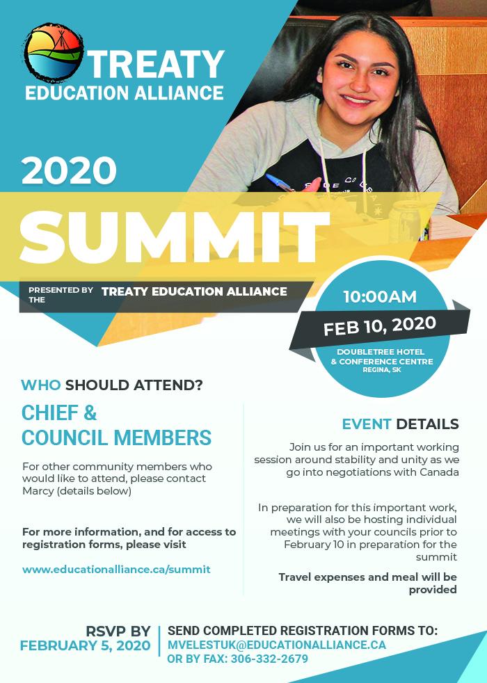 treaty education alliance summit 2020
